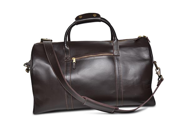 weekender plus luggage bag mahogany