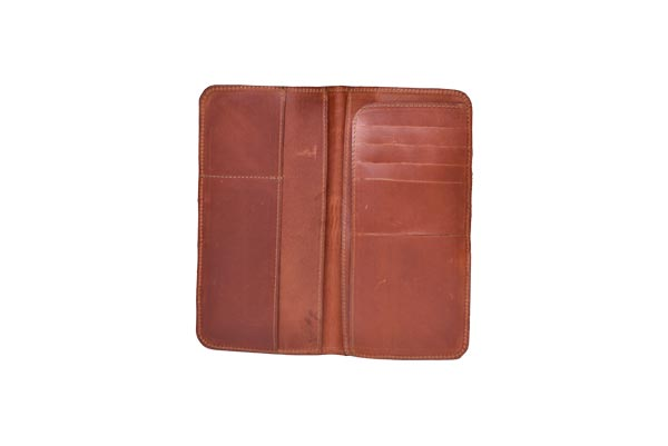 leather password wallet