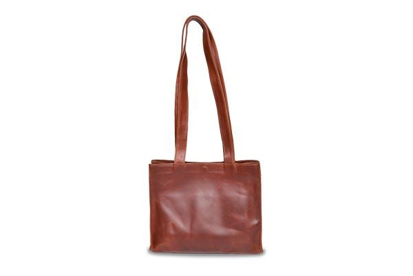 short leather purse